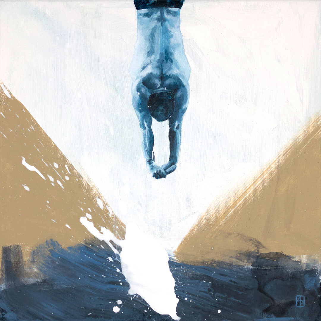 Alexis Jandard painting